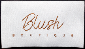 WOVEN LABEL - BLUSH BOUTIQUE