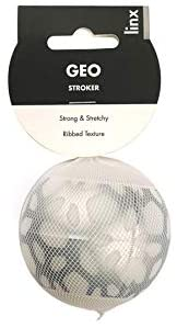 Linx Geo Stroker Ball - Clear/White