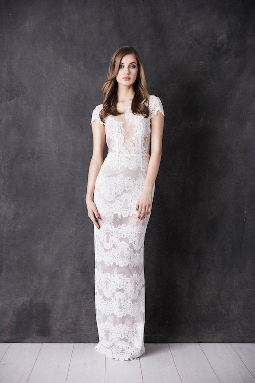 Virtue Dress Ivory