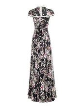 Load image into Gallery viewer, Palace Dress Black Floral