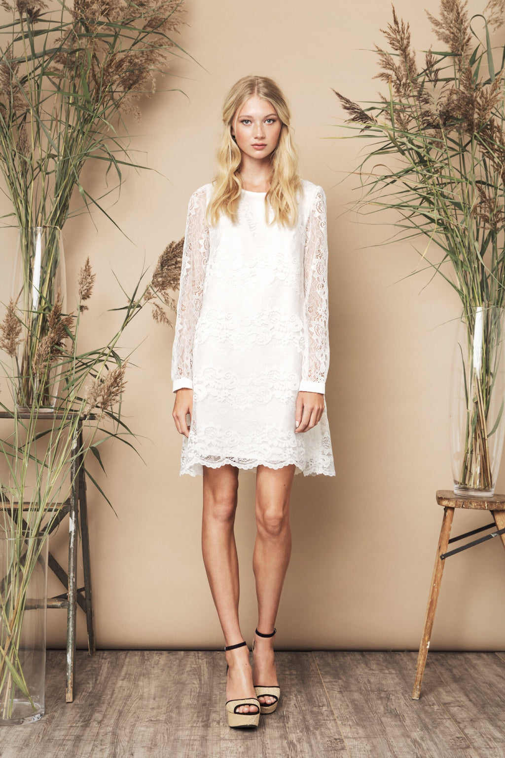 Sasha Dress Ivory