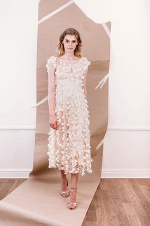 SS20 Aimee Dress Cream