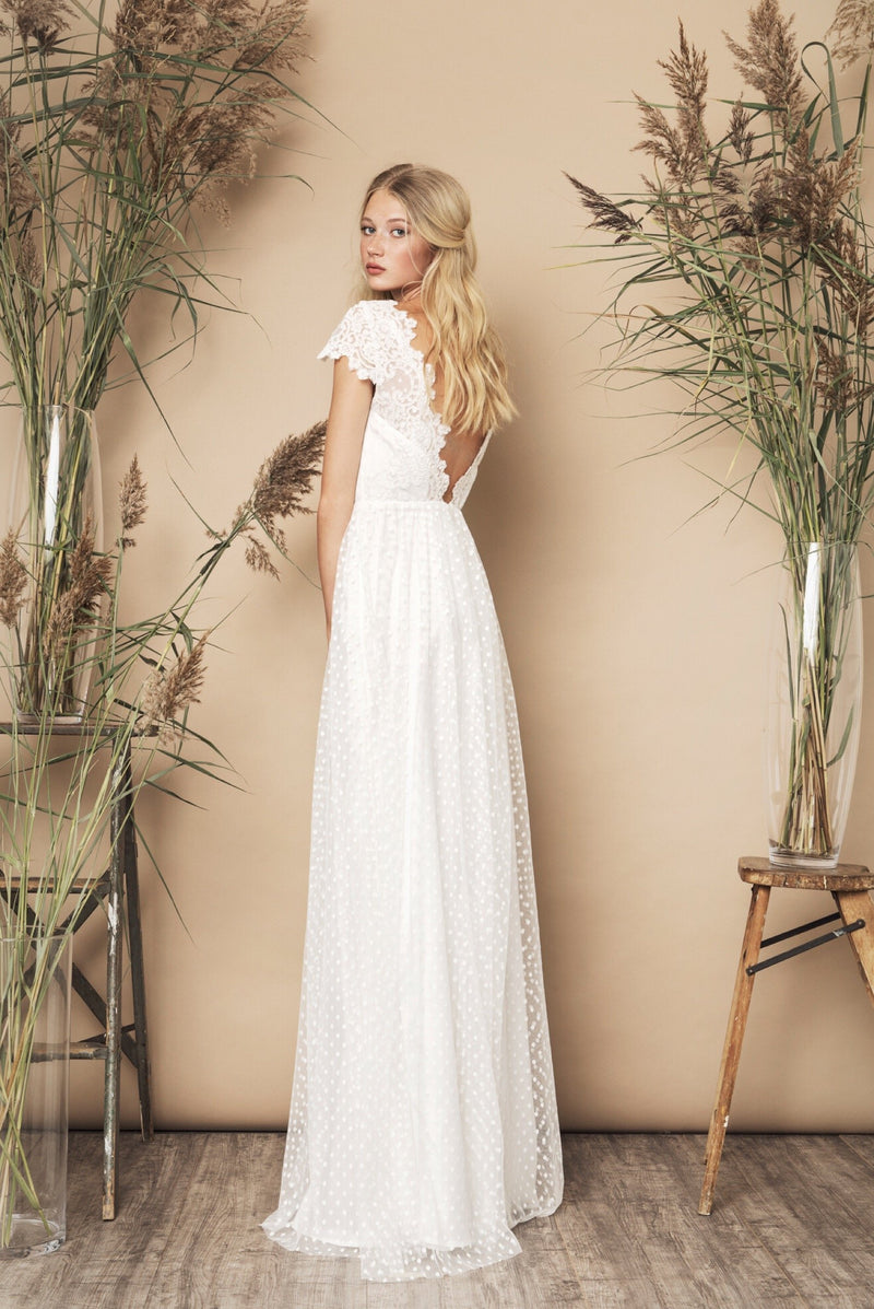 SS20 Dancer Dress Ivory