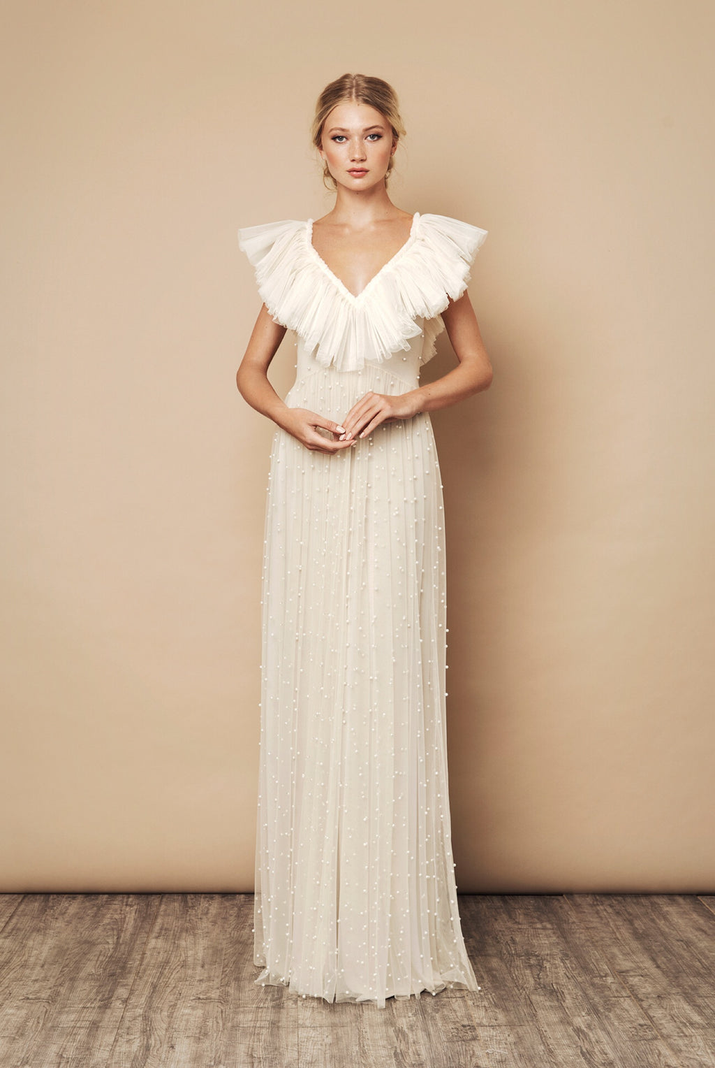 SS20 Amour Dress Ivory