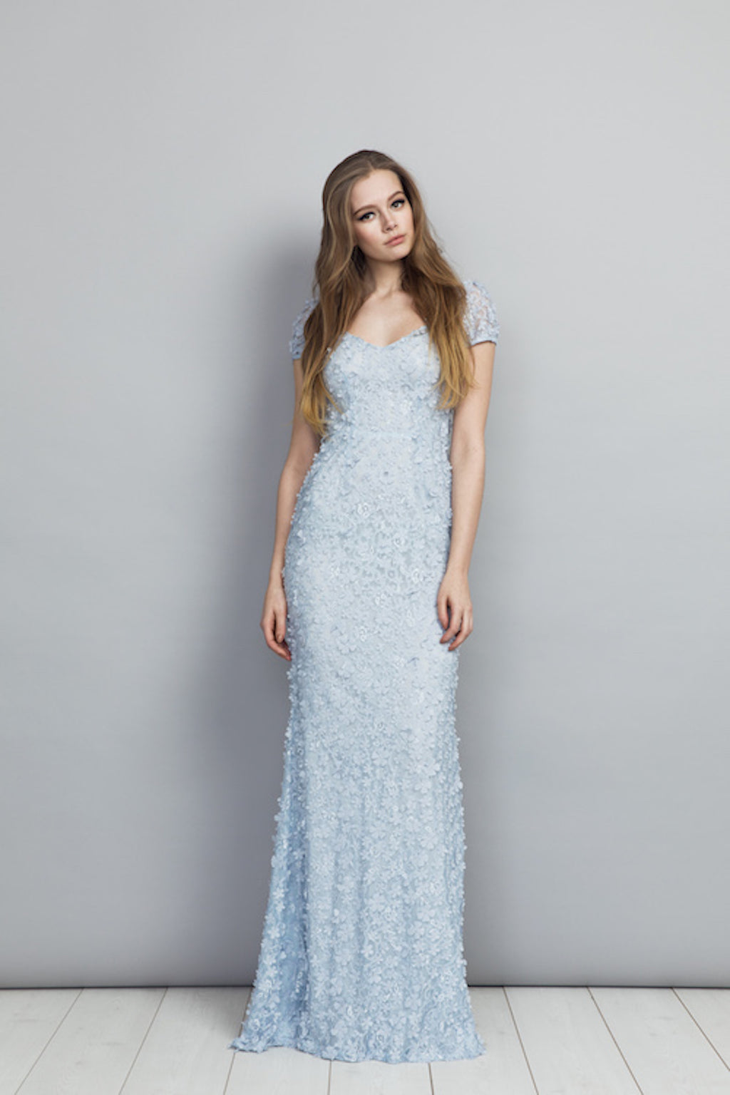 SS20 Gigi Dress Pale Blue