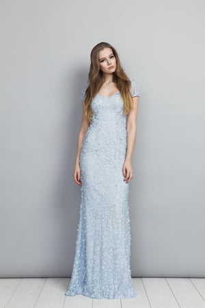 Gigi Dress Pale Blue