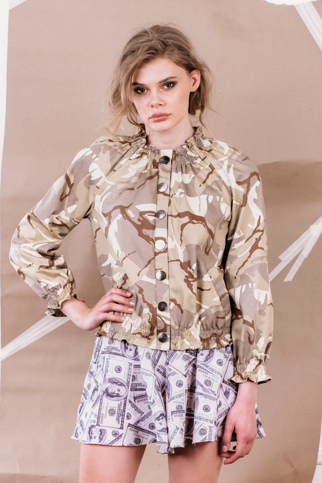 SS20 Laurel Jacket Camo