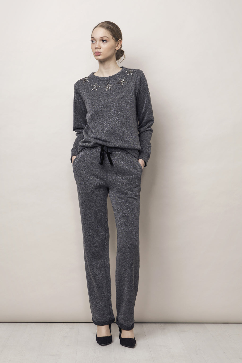 Gabrielle Trousers Grey