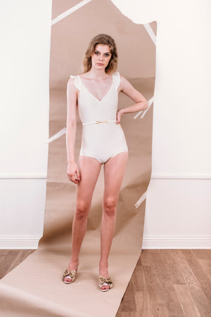 SS20 Martha Swimsuit Ivory