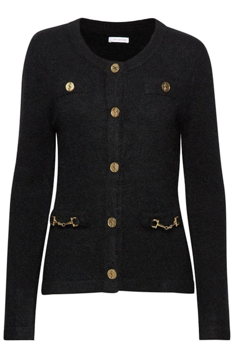 Noble Cardigan Black
