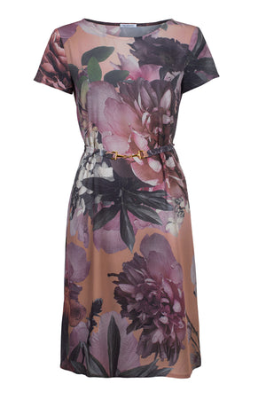 May Dress Pink Floral