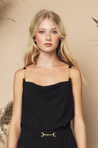 Rumi Top Black