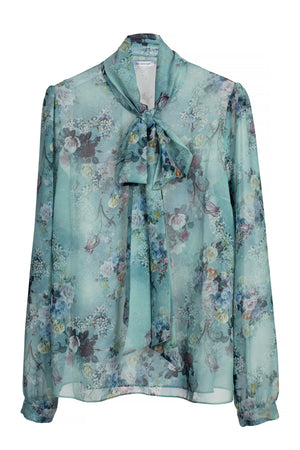 Peony Blouse Romantic Floral