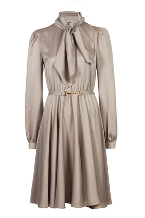 Shiver Dress Beige