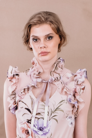 SS20 Lucky Blouse Pastel Floral