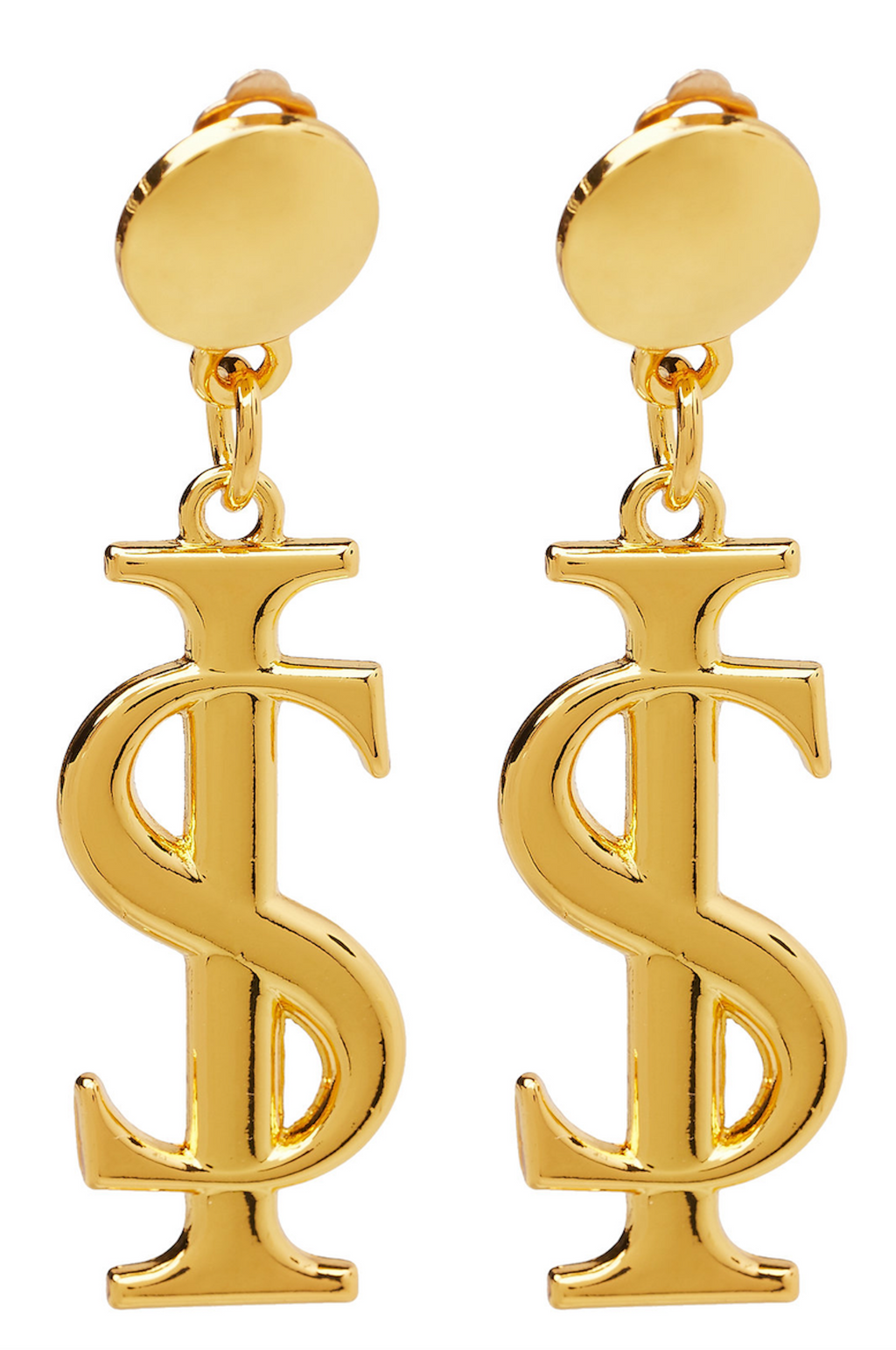 AW19 Logo Earrings