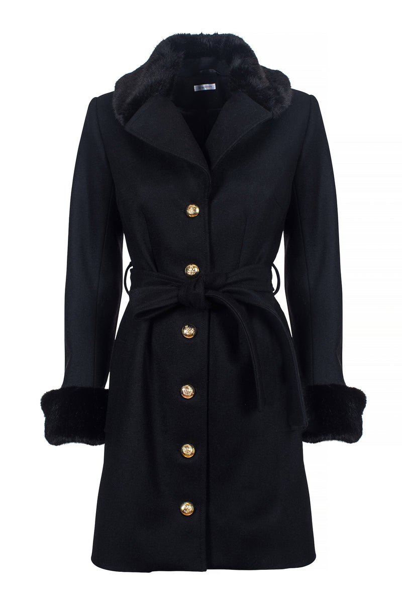 Zoey Coat Black