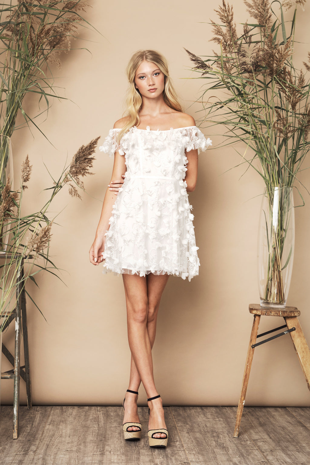 SS20 Fawn Dress Ivory