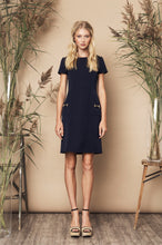 Load image into Gallery viewer, Perfect Dress Black, Navy & Red