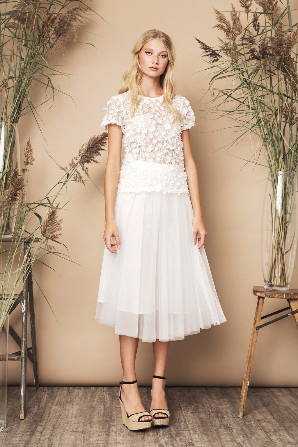 SS20 Flawless Skirt Ivory