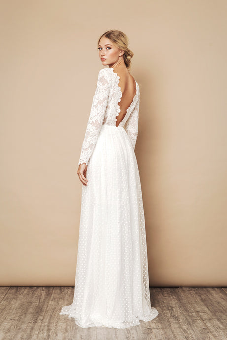Jemima Dress Ivory