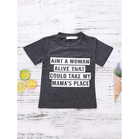 Dear Mama T-Shirt - Black