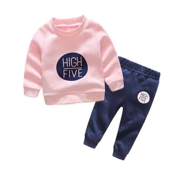 High Five Sweater and Pant 2 Piece Set