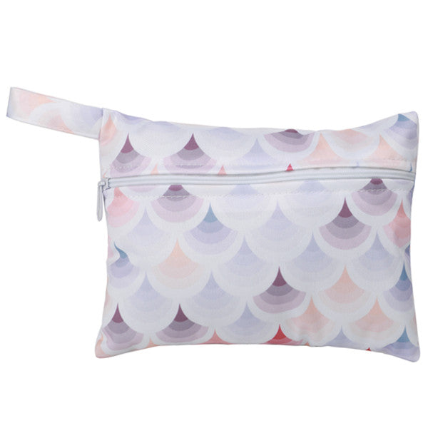 Pastel Waves - Small Wet Bag