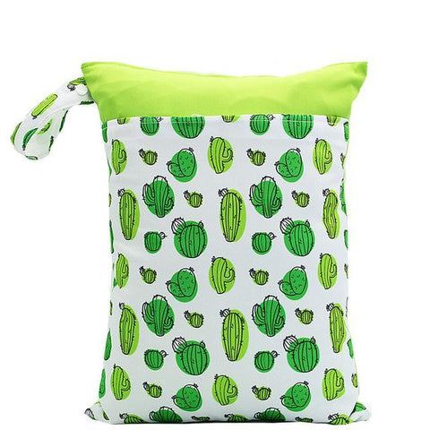 Green Cacti - Large Wet Bag
