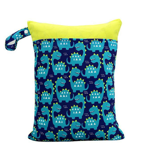 Blue Dinosaur - Large Wet Bag