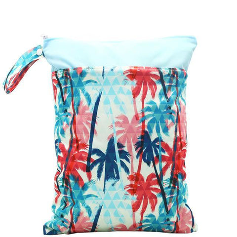 Blue Palm - Large Wet Bag