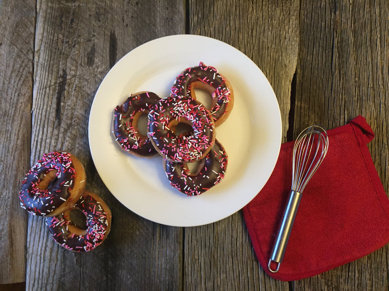 Allergy-free, 2-Ingredient Cake Mix Donuts
