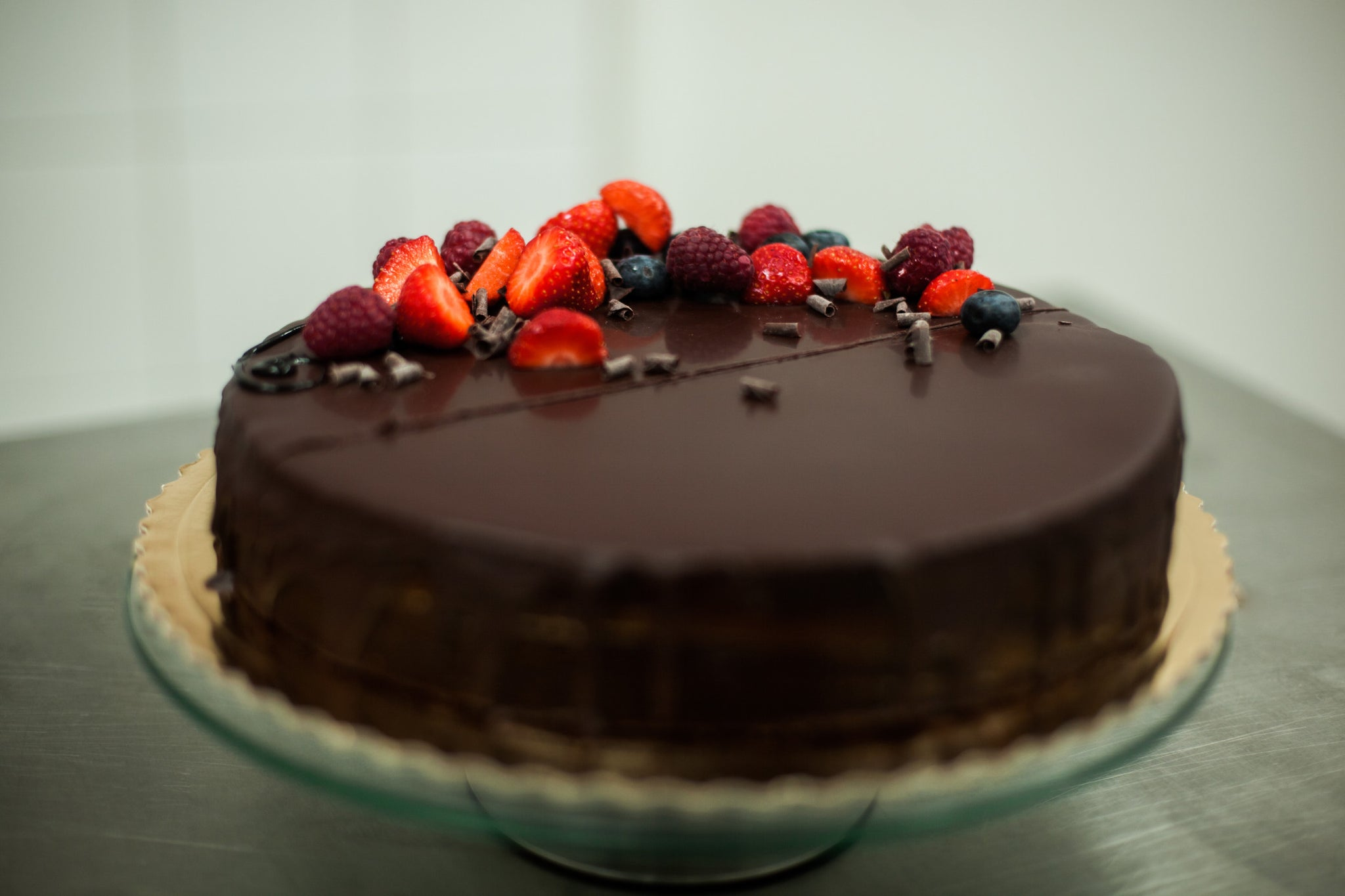 Organic Mexican Chocolate Cake