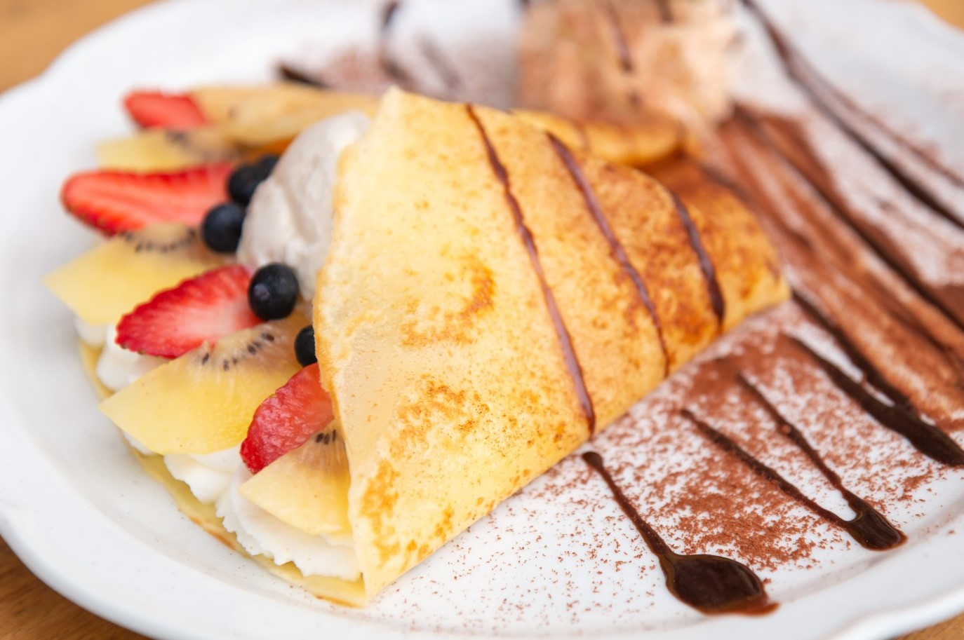 Crepes from pancake mix