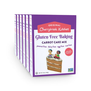 Gluten Free Carrot Cake Mix (6 Box Case) - Hudson River Foods