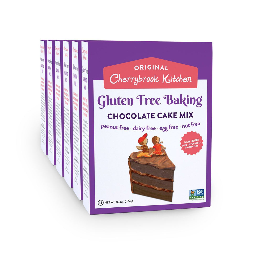 Gluten Free Chocolate Cake Mix (6 Box Case) - Hudson River Foods