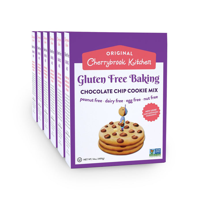 Gluten Free Chocolate Chip Cookie Mix (6 Box Case) - Hudson River Foods