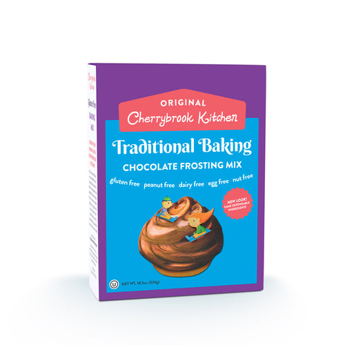 Chocolate Frosting Mix (Single Box) - Hudson River Foods