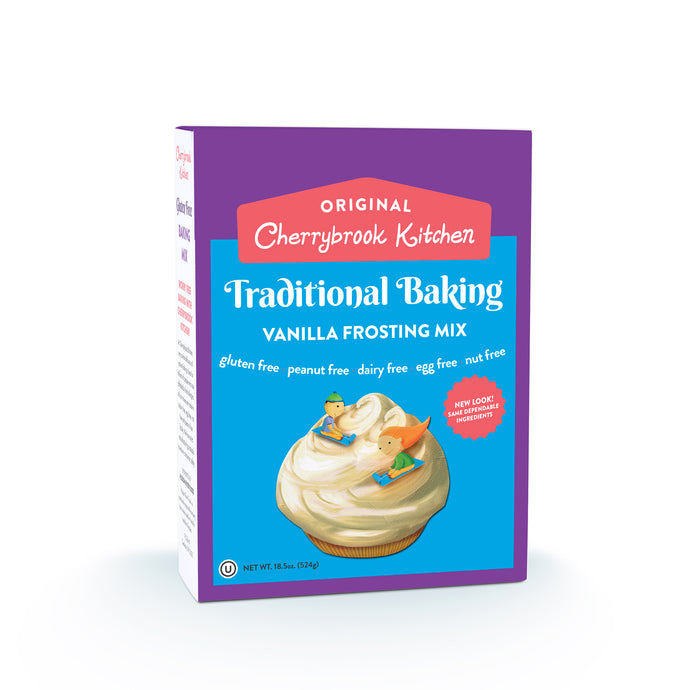 Vanilla Frosting Mix (Single Box) - Hudson River Foods