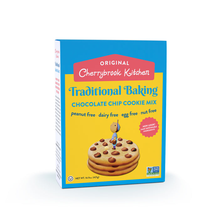 Chocolate Chip Cookie Mix (Single Box) - Hudson River Foods