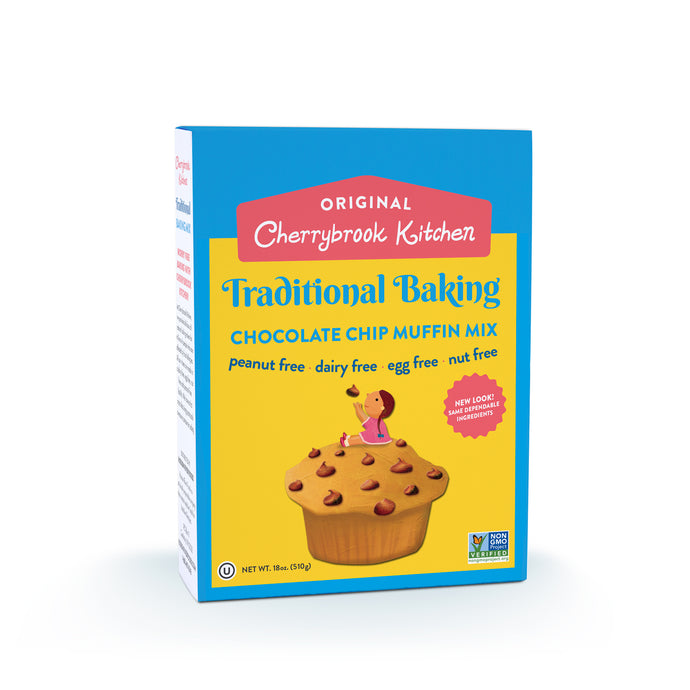 Chocolate Chip Muffin Mix (Single Box) - Hudson River Foods