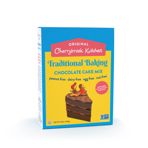 Chocolate Cake Mix (Single Box) - Hudson River Foods