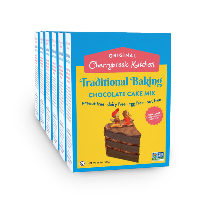 Chocolate Cake Mix (6 Box Case) - Hudson River Foods