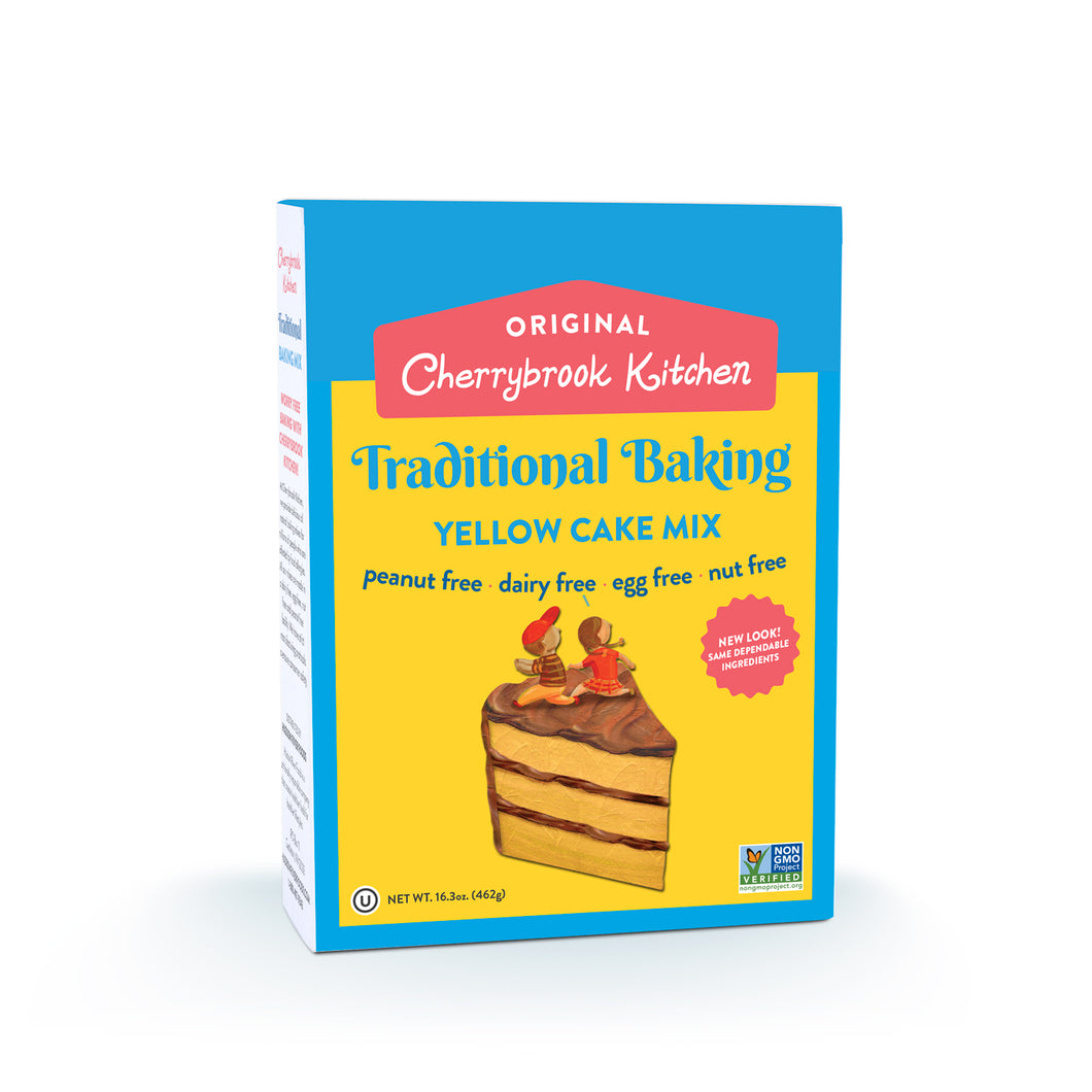 Yellow Cake Mix - Hudson River Foods