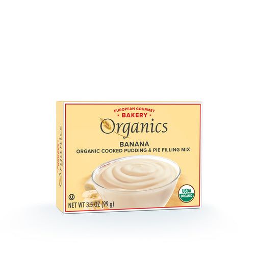 Organic Banana Pudding Mix - Hudson River Foods
