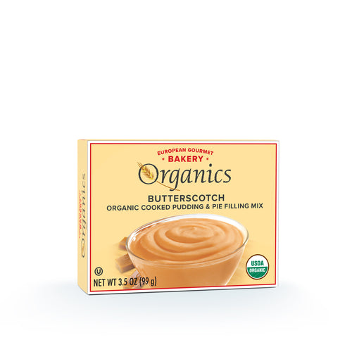 Organic Butterscotch Pudding Mix - Hudson River Foods