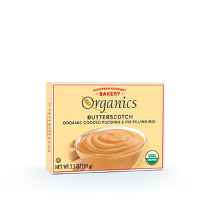 Organic Butterscotch Pudding Mix
