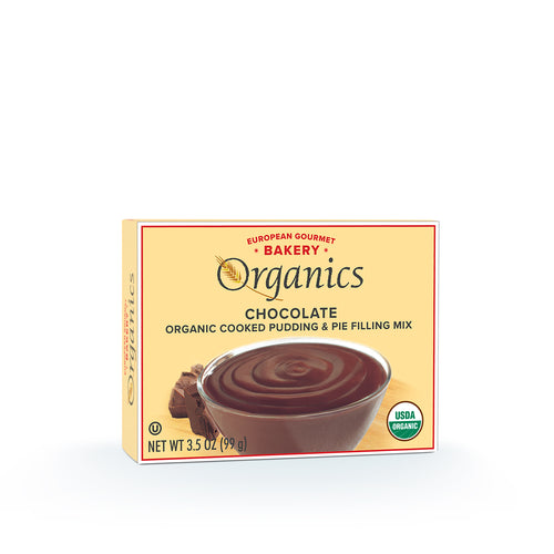 Organic Chocolate Pudding Mix - Hudson River Foods