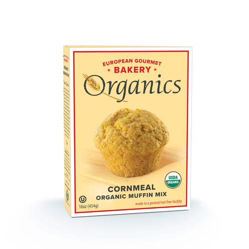 Organic Cornmeal Muffin Mix - Hudson River Foods