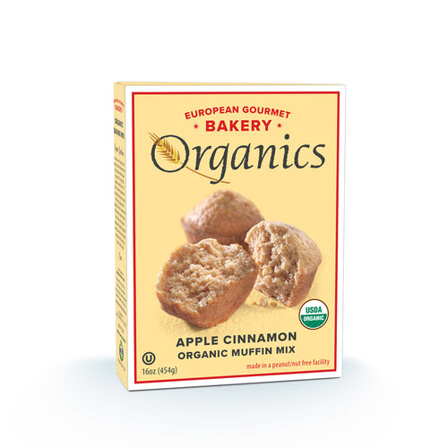 Organic Apple Cinnamon Muffin Mix - Hudson River Foods